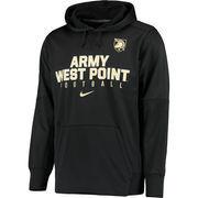 Men's Nike Black Army Black Knights Circuit Therma-FIT Performance Hoodie