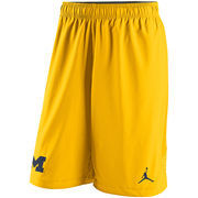 Men's Brand Jordan Maize Michigan Wolverines Speedvent Performance Shorts