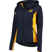 Women's Colosseum Navy Cal Bears Step Out Windbreaker Jacket
