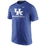 Men's Nike Royal Kentucky Wildcats Basketball University T-Shirt