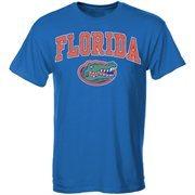 Men's New Agenda Royal Florida Gators Arch Over Logo T-Shirt