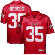 UNLV Rebels #35 Fan Football Jersey - Scarlet