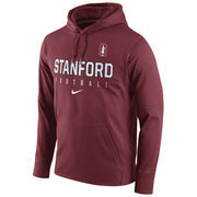 Men's Nike Cardinal Stanford Cardinal Circuit Therma-FIT Performance Hoodie