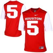 Houston Cougars Nike Game Replica Football Jersey - Scarlet