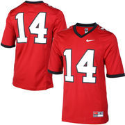 Harvard Crimson Nike Game Replica Football Jersey - Crimson