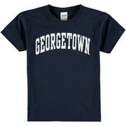 Youth New Agenda Navy Georgetown Hoyas Arch T-Shirt