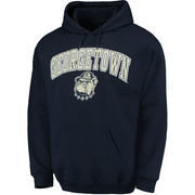 Men's Fanatics Branded Navy Georgetown Hoyas Campus Pullover Hoodie