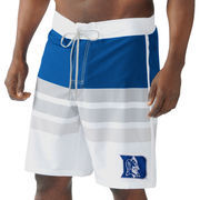 Men's G-III Sports by Carl Banks Royal/White Duke Blue Devils Center Field Swim Trunks