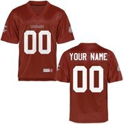 Washington State Cougars Personalized Football Name & Number Jersey - Crimson
