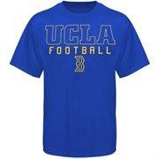 UCLA Bruins Frame Football T-Shirt - Royal Blue