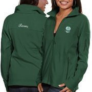 Women's Colorado State Rams Columbia Green Give & Go Full Zip Jacket
