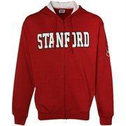 Stanford Cardinal Cardinal Classic Twill Full Zip Hoodie Sweatshirt