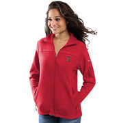 Women's Columbia Red Texas Tech Red Raiders Give & Go Full-Zip Jacket