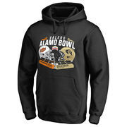 Men's Fanatics Branded Black Oklahoma State Cowboys vs. Colorado Buffaloes 2016 Alamo Bowl Motion Matchup Pullover Hoodie