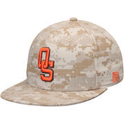 Men's The Game Camo Oklahoma State Cowboys On-Field Baseball Digi Fitted Hat