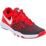 Men's Nike Red Georgia Bulldogs Train Speed 4 Week Zero College Collection Shoes