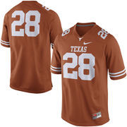 Texas Longhorns Nike #28 Practice Football Jersey - Burnt Orange