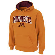 Men's Stadium Athletic Gold Minnesota Golden Gophers Arch & Logo Pullover Hoodie