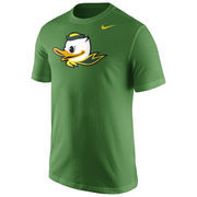 Men's Nike Apple Green Oregon Ducks Logo T-Shirt