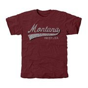 Montana Grizzlies All-American Secondary Tri-Blend T-Shirt - Maroon