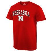 Men's Fanatics Branded Scarlet Nebraska Cornhuskers Campus T-Shirt