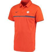 Men's Nike Orange Clemson Tigers 2016 Elite Coaches Sideline Performance Polo