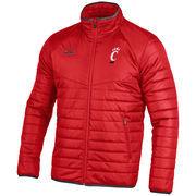 Men's Under Armour Red Cincinnati Bearcats Performance Puffer Jacket