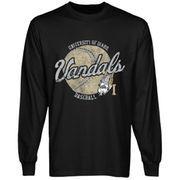 Idaho Vandals Original Pastime Long Sleeve T-Shirt - Black
