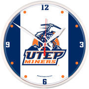 UTEP Miners 12'' Tier Round Clock