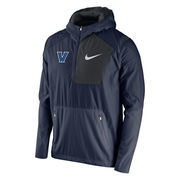 Nike Villanova Wildcats Navy Speed Fly Rush Half-Zip Pullover Jacket
