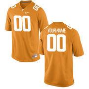 Men's Tennessee Orange Tennessee Volunteers Nike Custom Game Jersey
