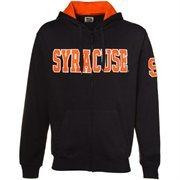 Syracuse Orange Navy Blue Classic Twill Full Zip Hoodie Sweatshirt