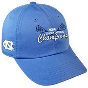 Men's Top of the World Light Blue North Carolina Tar Heels 2016 NCAA Men's Lacrosse National Champions Crew Adjustable Hat