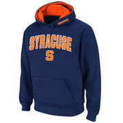 Men's Stadium Athletic Navy Syracuse Orange Arch & Logo Pullover Hoodie
