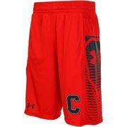 Under Armour Carnelian Cornell Big Red Lacrosse Performance Mesh Shorts