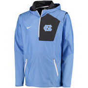 Men's Nike Carolina Blue North Carolina Tar Heels 2016 Sideline Vapor Fly Rush Half-Zip Pullover Jacket