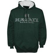 Hawaii Warriors Sentinel Pullover Hoodie Sweatshirt - Green