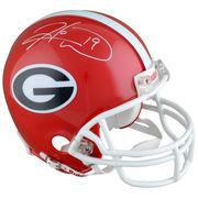 Hines Ward Georgia Bulldogs Autographed Riddell Mini Helmet