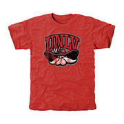 UNLV Rebels Classic Primary Tri-Blend T-Shirt - Scarlet