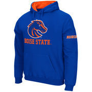 Men's Stadium Athletic Royal Boise State Broncos Big Logo Pullover Hoodie