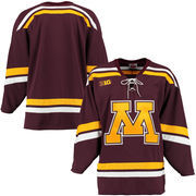 Men's Maroon Minnesota Golden Gophers K1 College Hockey Jersey