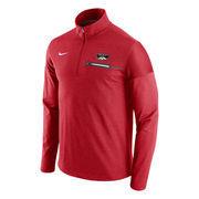 Men's Nike Red UNLV Rebels Elite Coaches Half-Zip Pullover Jacket