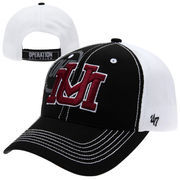 '47 Brand Montana Grizzlies Operation Hat Trick Mikita Adjustable Hat - Black/White