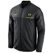 Men's Nike Black Oregon Ducks 2016 Sideline Elite Hybrid Performance Jacket