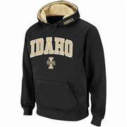 Mens Idaho Vandals Black Classic Arch Logo Twill Hoodie