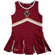 Girls Toddler Under Armour Maroon Boston College Eagles Performance Cheer Dress