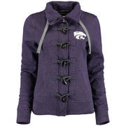 Women's Renu Purple Kansas State Wildcats Nantucket Toggle Zip Jacket