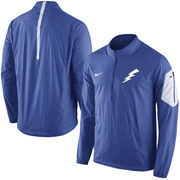 Men's Nike Royal Air Force Falcons 2015 Football Coaches Sideline Half-Zip Wind Jacket