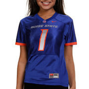 Nike Boise State Broncos #1 Women's Replica Football Jersey - Royal Blue
