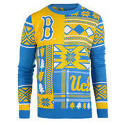 Men's Blue UCLA Bruins Patches Ugly Sweater